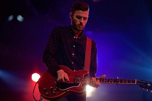 Guitarist Solo In Concert