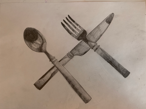 Silverware drawings (May 20, 2020 at 5:1