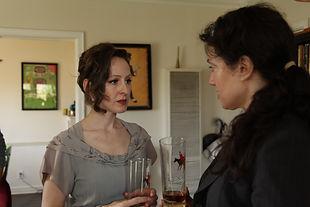 Barbara Ann Duffy and me in the first season