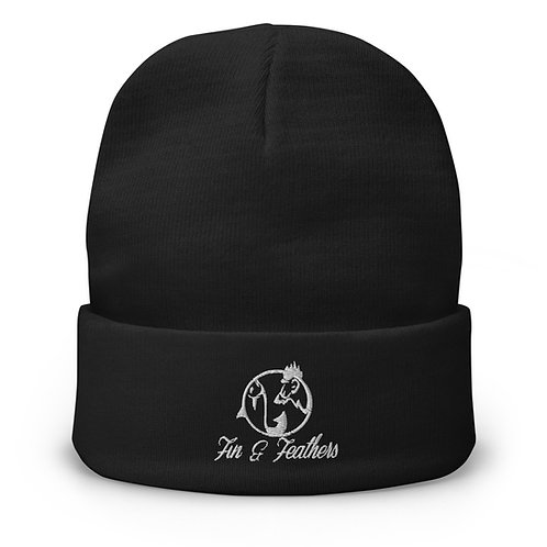 Fin & Feathers Beanie