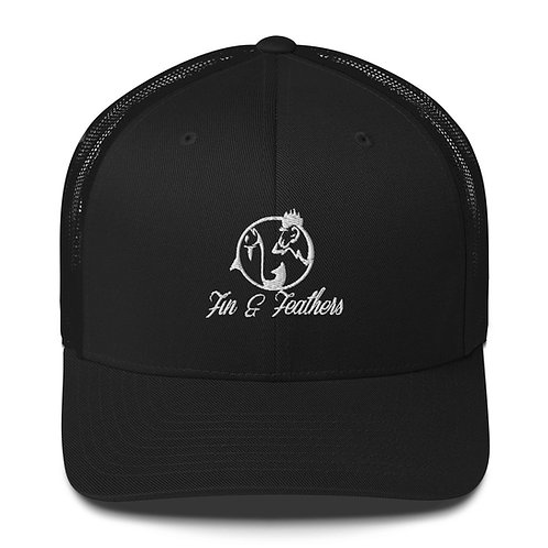Fin & Feathers Trucker Cap