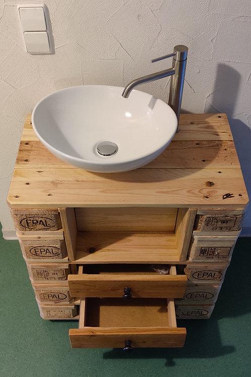 Waschtisch, Gäste WC - Palettenmöbel