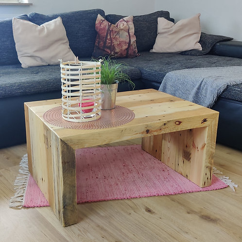 Couchtisch - recyceltes Palettenholz