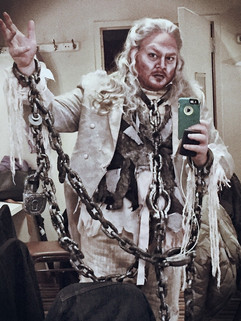 Jacob Marley's Ghost in A Christmas Caro