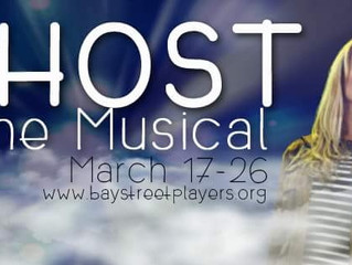 Daniel performing in Ghost the Musical at the Bay Street Players Theatre in Eustis, Florida!