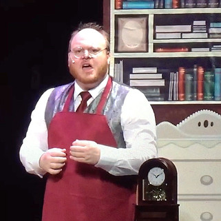 """Daniel as William Hawthorne in """"At the S"""