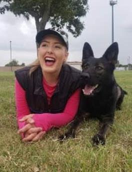 IGP/Schutzhund Trainer, Megan, & Road Warrior Empress BH, CGC, TKN, TKI