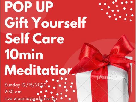 POP UP... tea meditation