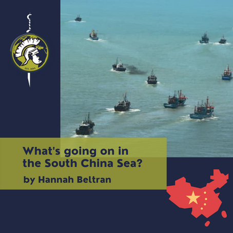 What's going on in the South China Sea?