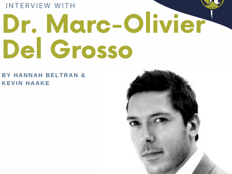 Interview with Marc-Olivier Del Grosso