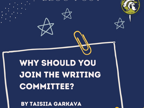 Why should you join the Writing Committee?