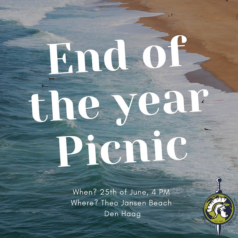 End of the Year Beach Picnic