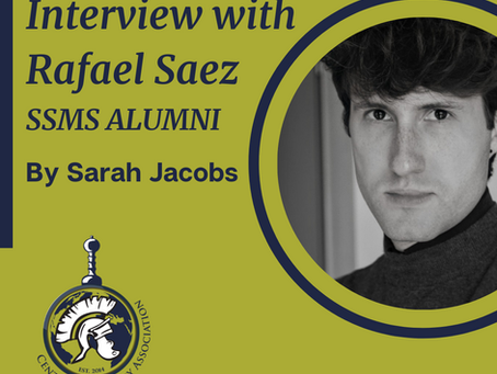 Interview with alumni - Rafael - from successful SSMS student to finding a dream job