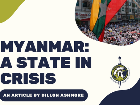 Myanmar-A State in Crisis