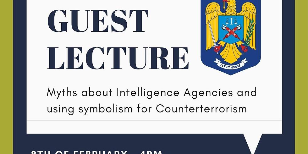 Intelligence Agencies - Guest Lecture
