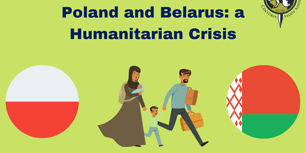 Guest Lecture-Humanitarian Crisis