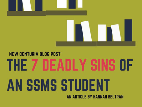 The 7 Deadly Sins of an SSMS Student