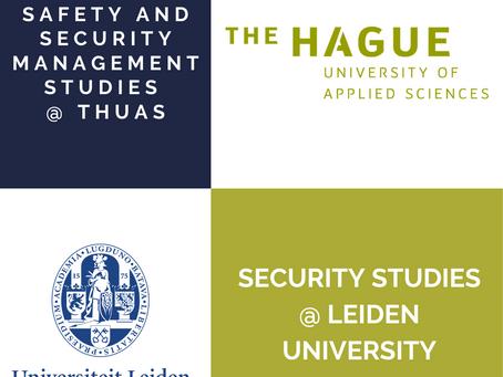 The University of Leiden vs THUAS vs both?