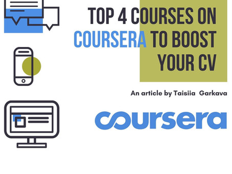 Interesting courses on Coursera to follow