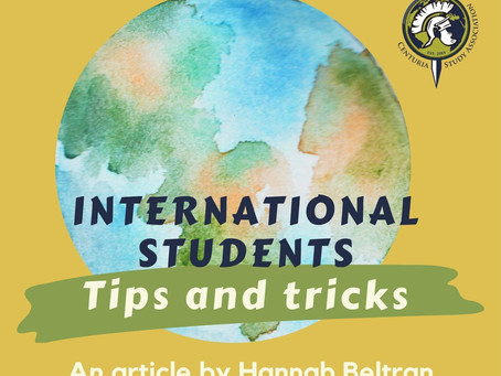 International Students - Tips & Tricks