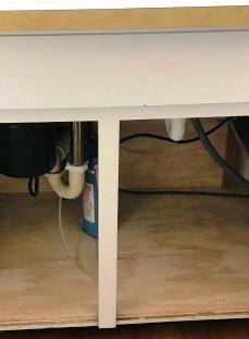 Under Kitchen Sink After