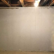 Basement Wall After