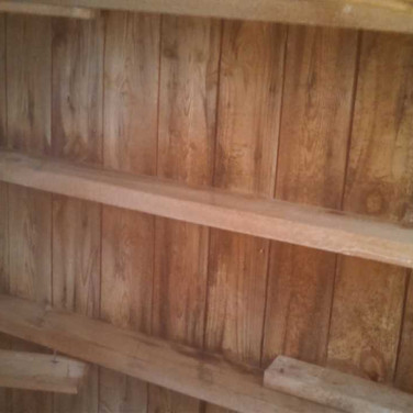 Attic Decking After