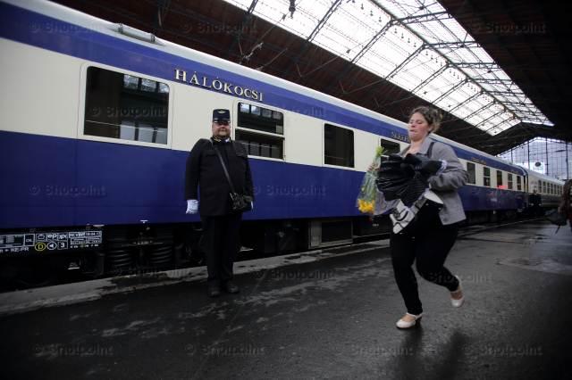 """Поезд """"Золотой Орел"""", Будапешт."""