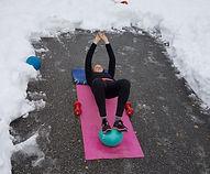 préparation physique ski snowboard