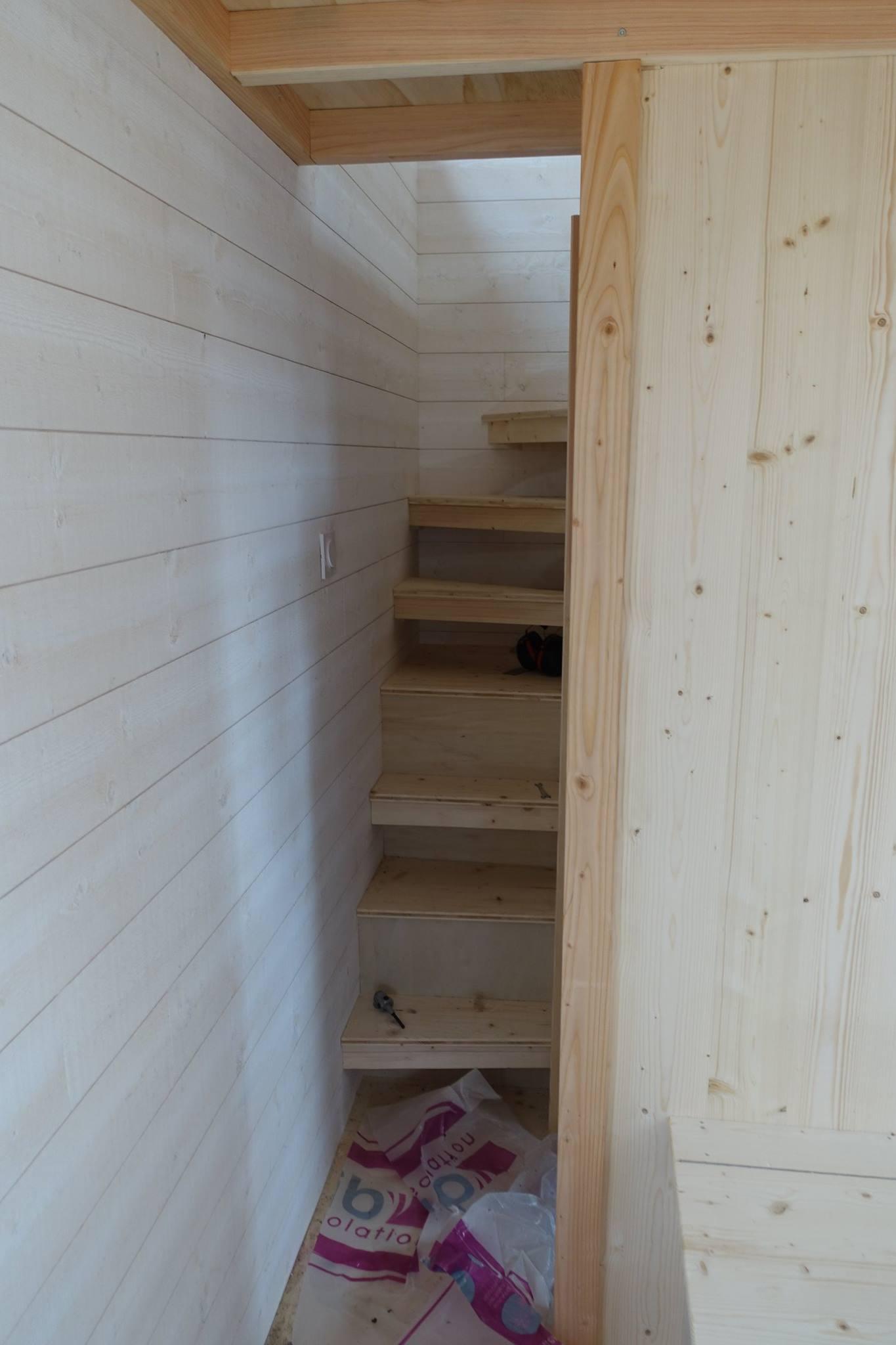 Tiny house les cabanes de Sarah 2016