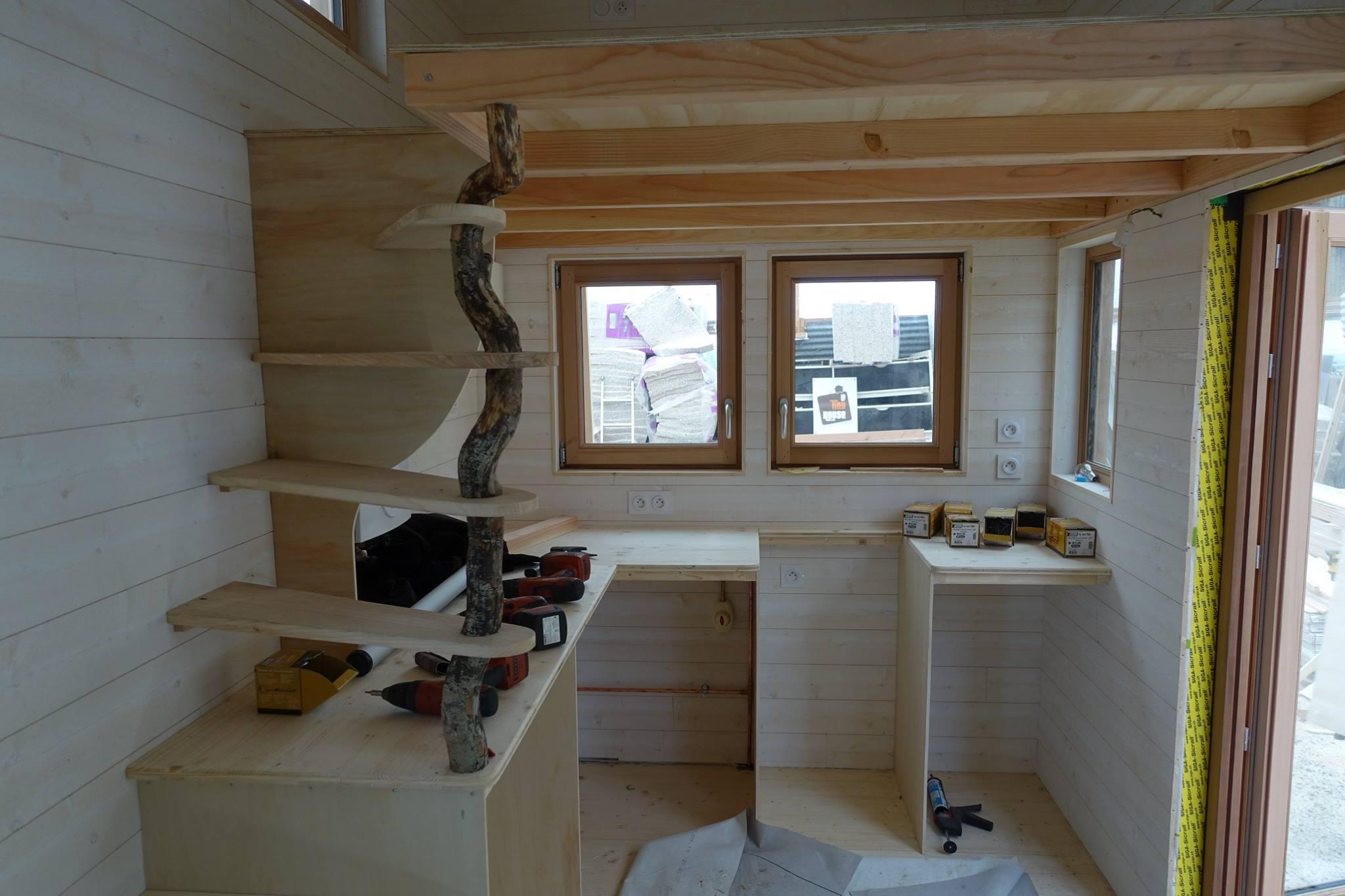 Tiny house les cabanes de Sarah juin 2016