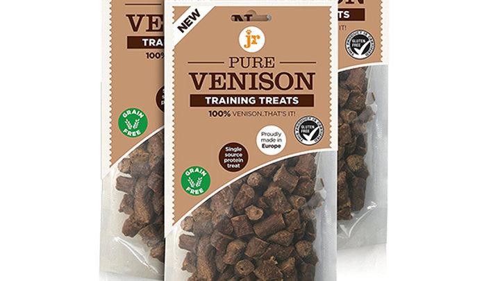 JR Pure Range Venison Training Treats 85g