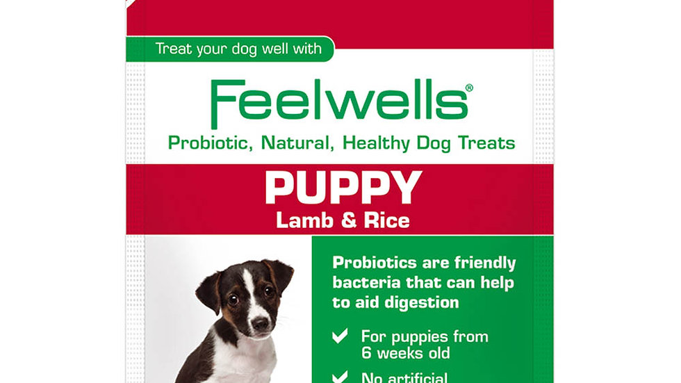 Feelwells Probiotic Puppy Treats