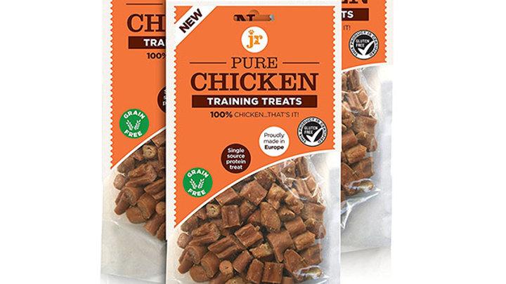 JR Pure Range Chicken Training Treats 85g