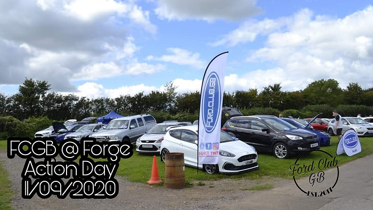 Forge Action Day with Ford Club GB
