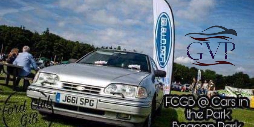 Cars in the Park With Ford Club GB sponsored by GVP
