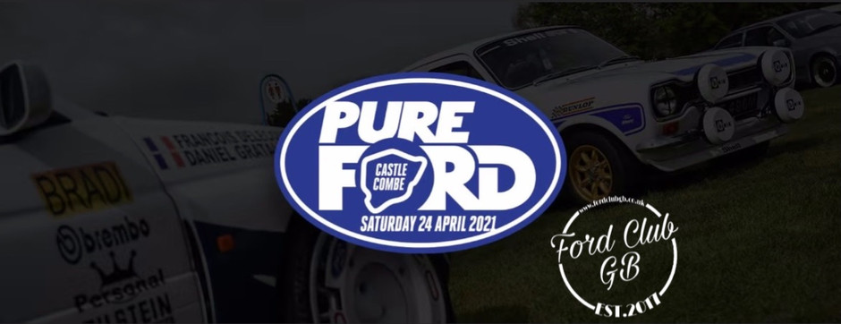 Pure Ford with FCGB ticket details