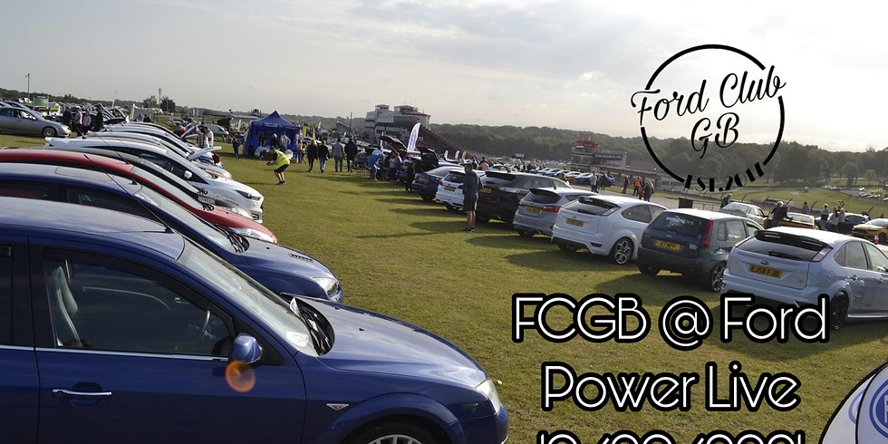 Ford Power Live with Ford Club GB