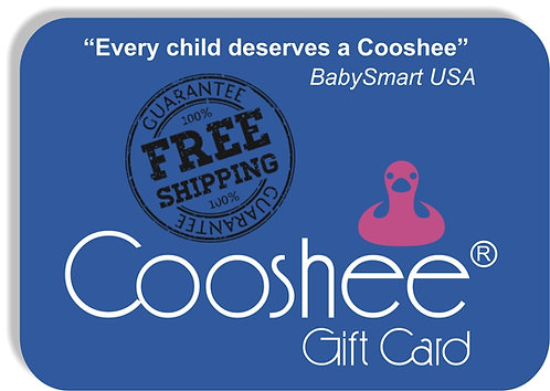 "Cooshee  ""Hybak"" GIFT CARD (with FREE Shipping)"