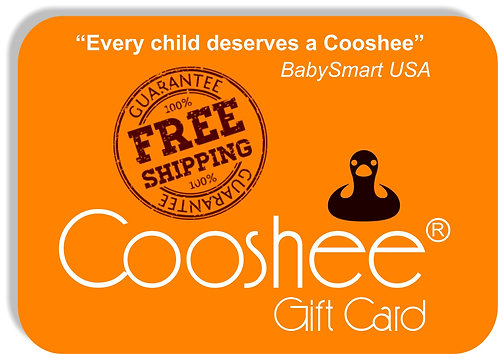 Cooshee CLASSIC Gift Card (with FREE Shipping)