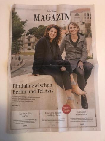 Berliner Zeitung Magazine (with Anja Reich)