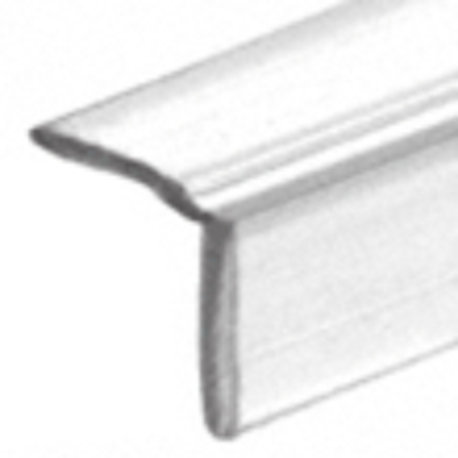 Clear Vinyl L Shower Seal  8mm Soft Leg  (Pk of 5)