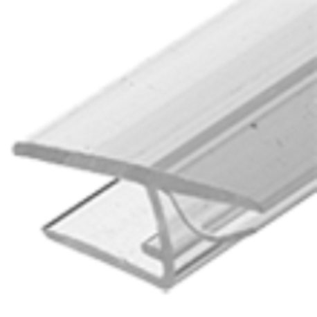 H Shower Door Jamb Seal With Cushion Fin - PCK8