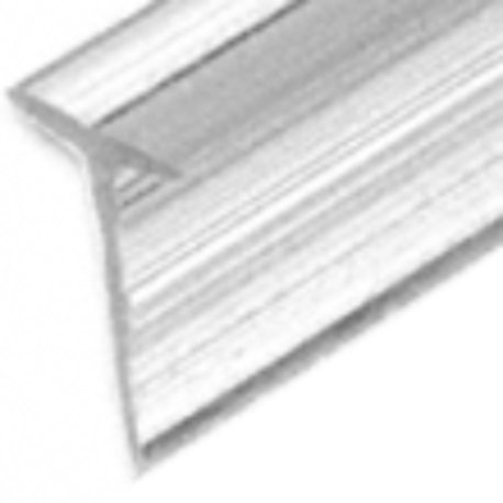 Clear Vinyl Edge T Seal/Wipe  (Pk of 5) - SDTW
