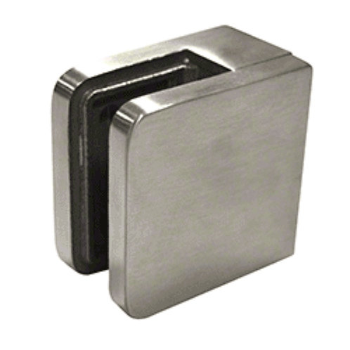 316 Stainless Flat Back Glass Clamp 45 x 45mm