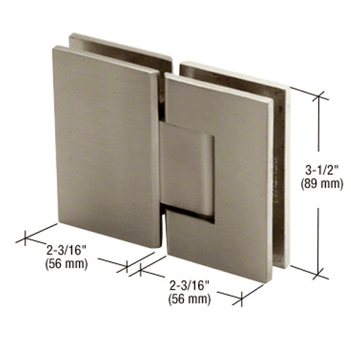 Geneva 180 Degree Glass-To-Glass Standard Hinge