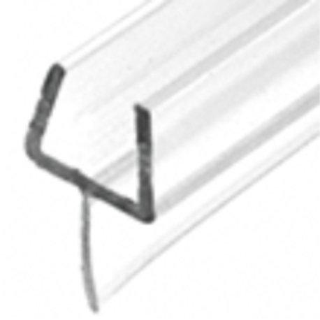 One-Piece Bottom Showr Door Rail With Wipe/Seal