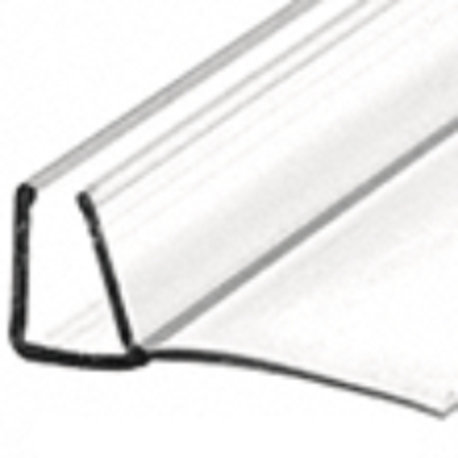Shower U Seal With 90 degree Vinyl Fin Seal