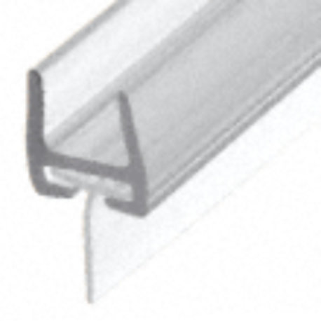 Polycarbonate Bottom Shower Rail with Wipe/Seal