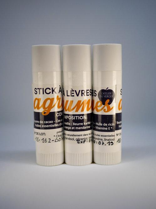 Stick à lèvre AGRUMES